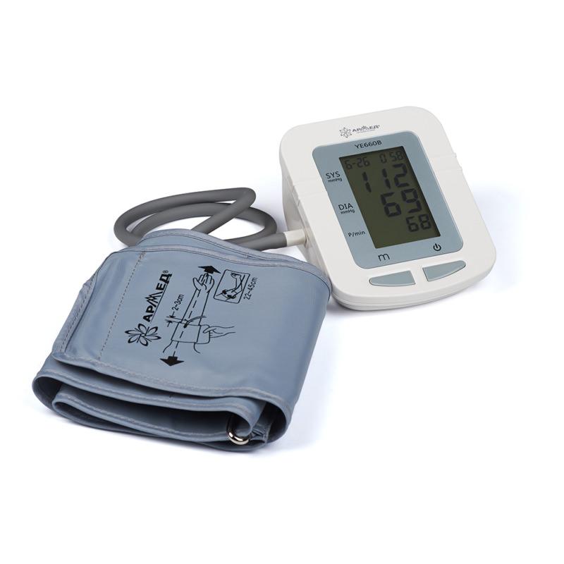 Прибор для измерения артериального давления и частоты пульса электронный (тонометр) «Armed» YE-660B (с речевым выходом, с адаптером)
