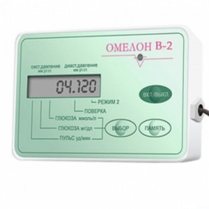 Неинвазивный глюкометр тонометр Омелон B-2