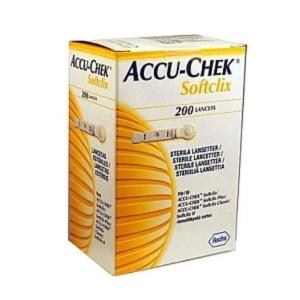 Ланцеты Акку-Чек Софткликс №200 и №25