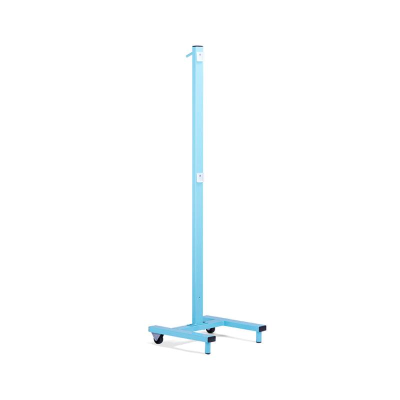 Мебель для медицинских учреждений: стойка приборная Спя-1 (голубая)