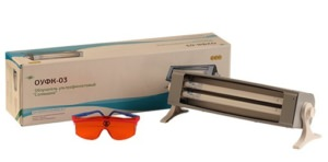 ОУФк-320/400-03 «Солнышко» облучатель ультрафиолетовый для облучения кожных покровов