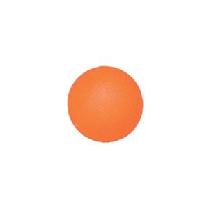 Мяч для тренировки кисти 50 мм мягкий оранжевый
