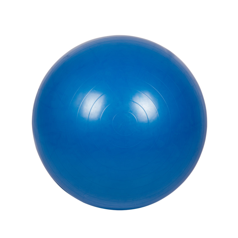 Мяч гимнастический для фитнеса c АБС 75см