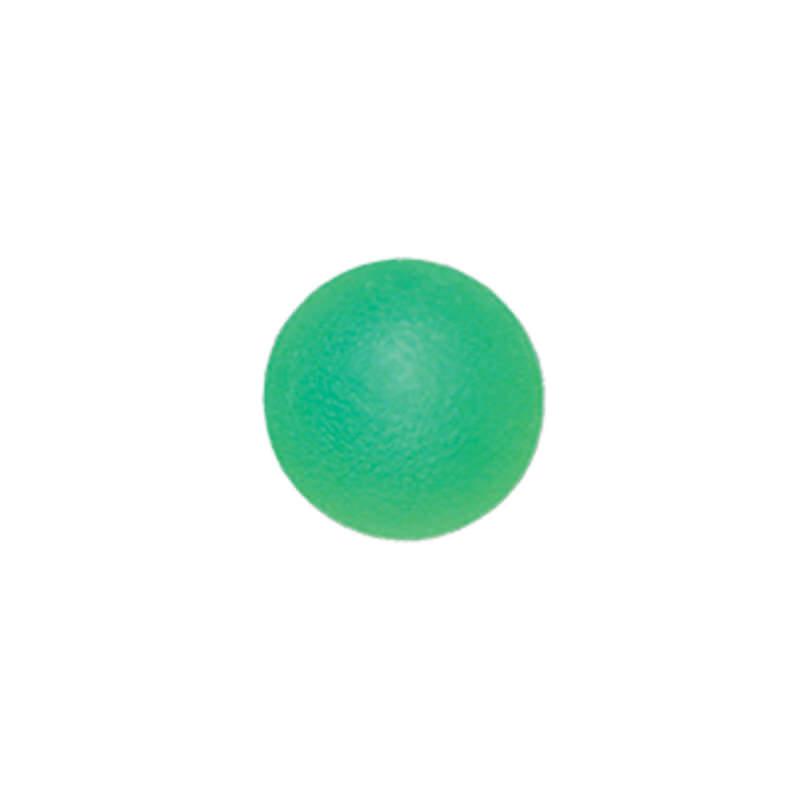 Мяч для тренировки кисти 50 мм полужесткий зеленый