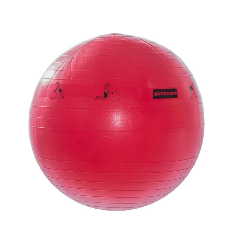 Мяч гимнастический для фитнеса с АВС 65см