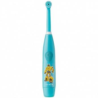 Электрическая зубная щетка CS Medica KIDS CS-461-B, Light Blue