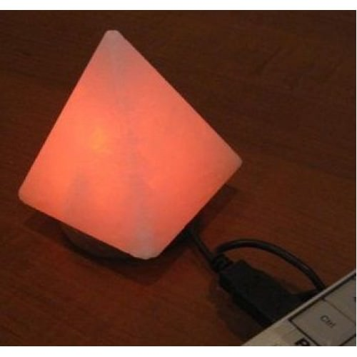 Соляная USB лампа «ПИРАМИДА»