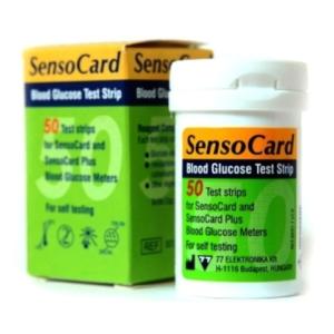 Тест-полоски SensoCard №50 и №25