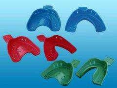Слепочная ложка пластиковая нижняя (100шт) (Омега)
