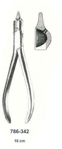 Зажим-щипцы крампонные 786-342(Пакистан)