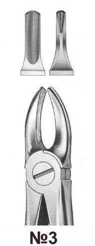 Щипцы для удаления зубов №3 (Пакистан)