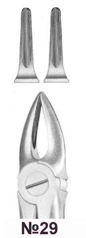 Щипцы для удаления зубов №29 (Пакистан)
