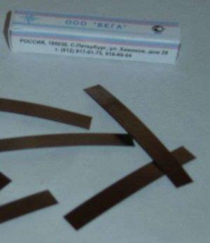 Полоски металлические сепарационные (100шт) ВЕГА