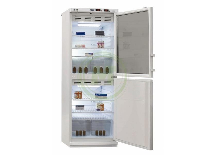 Холодильник фармацевтический Позис ХФД-280 (двери тон. стекло/металл)
