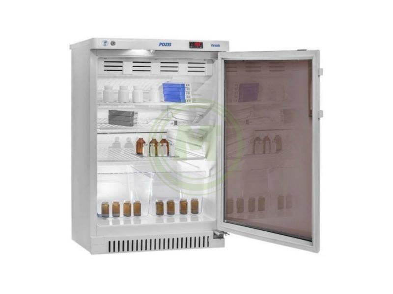 Холодильник фармацевтический Позис ХФ-140-1 (дверь тон. стекло)