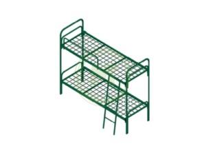 Кровать двухъярусная металлическая К.722.23