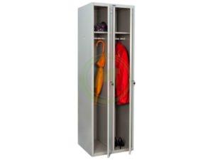 Шкаф металлический для одежды Промет LS-21