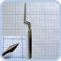 Нож-игла парацентозная штыкообразная J-31-560