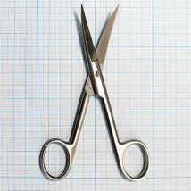 Ножницы остроконечные вертикально-изогнутые 140 мм 13-152 Surgical