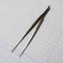 Пинцет сосудистый прямой PC-504-15