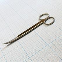Ножницы тупоконечные вертикально-изогнутые J-22-029, 16,5 см