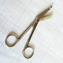 Ножницы для разрезания повязок с пуговкой по Листеру JO-21-120