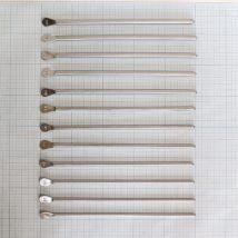 Бужи уретральные металлические прямые №16-27
