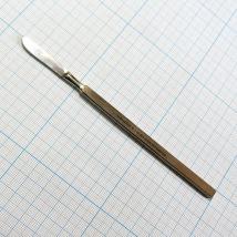 Скальпель глазной брюшистый средний СБ140х30 (Сб-3)) J-50-600