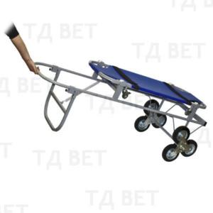 Тележка с носилками ПВХ, со строенными колесами СВУ-20.12