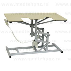 Стол ветеринарный универсальный СВУ-19 э/привод для УЗИ и эхо процедур