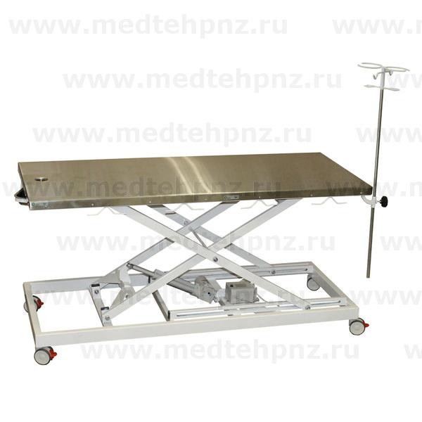 Стол ветеринарный VETBOT, со сливом и штативом